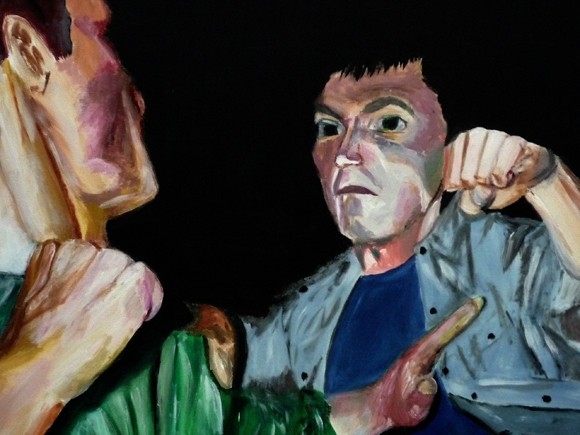 Alcohol 3 -The fight (detail)