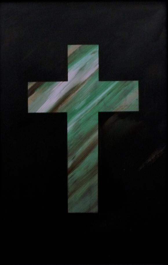 God's rule / Peeping behind the cross