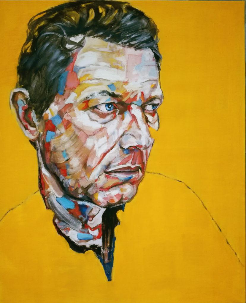 Autoportrait en jaune